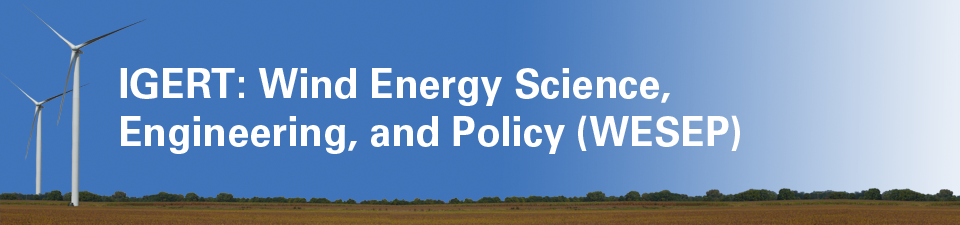 WESEP: Wind Energy Science, Engineering, and Policy
